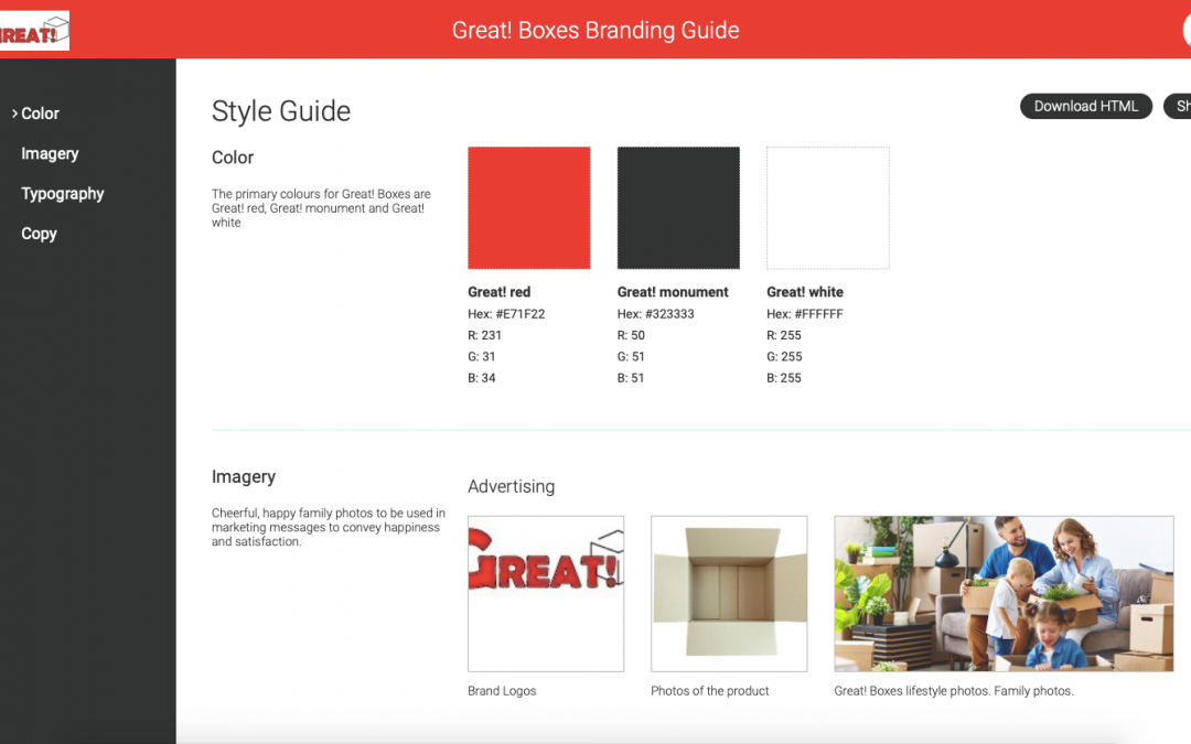HOW TO create a Style Guide